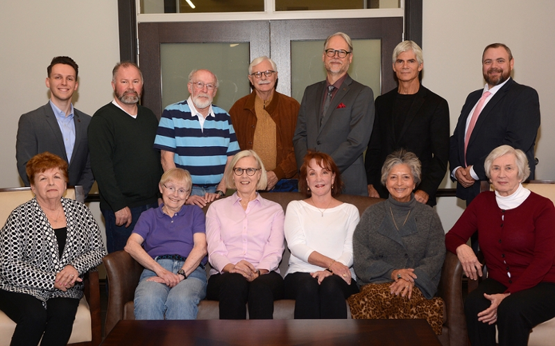 group of 13 people