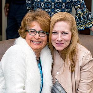 photo of Iris and Paula