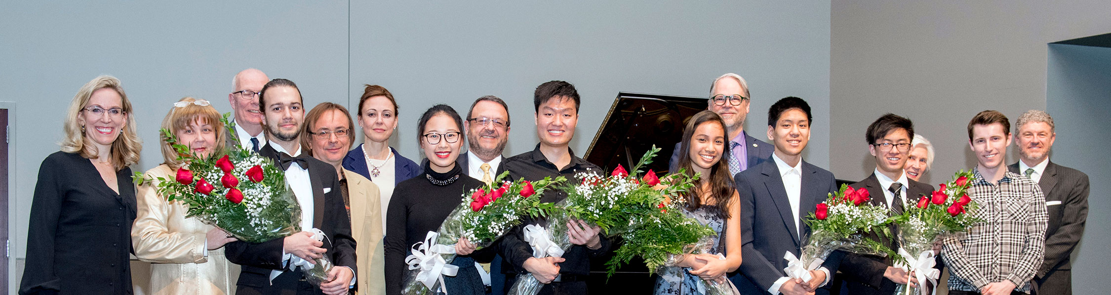 winners and jurors of the 2018 Kuleshov International Piano Festival and Competition