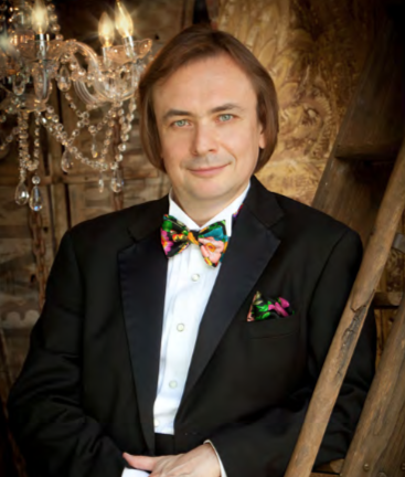 photo of pianist Valery Kuleshov