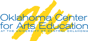 official logo of the Oklahoma Center for Arts Education at the University of Central Oklahoma