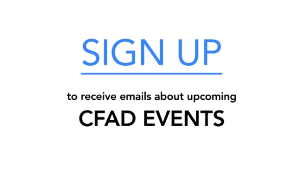 Sign up for events emails