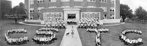 Central State Teacher's College class photo