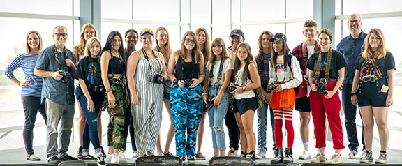 Participants in the 2019 Photo Camp