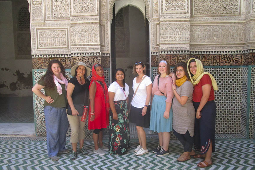 students in Morocco
