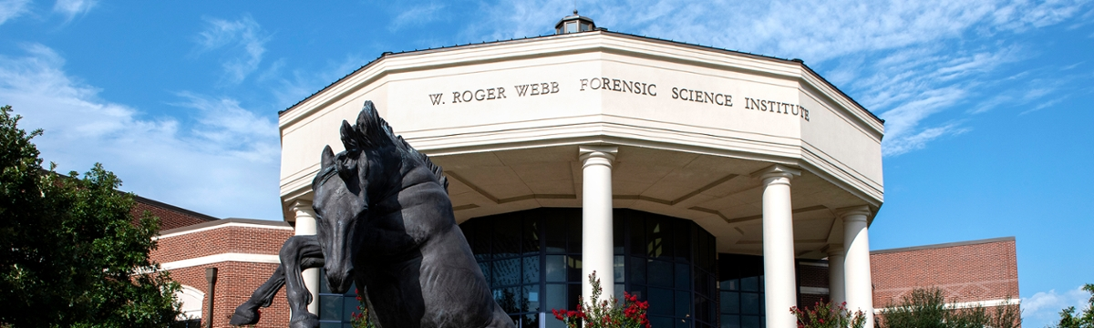 photo of the Forensic Science Institute building on UCO's campus