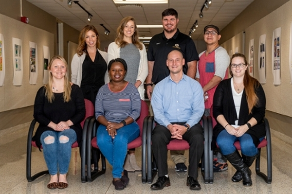 Photo of 2019 Graduate Student Advisory Board members