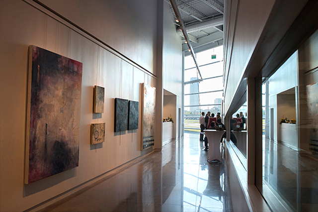 Image of art gallery at Central Boathouse