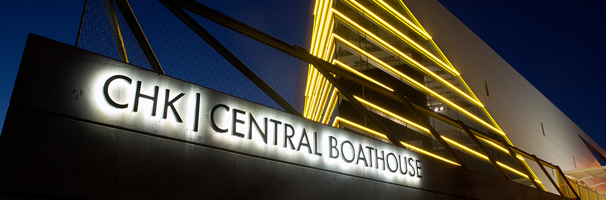 CHK | Central Boathouse Sign