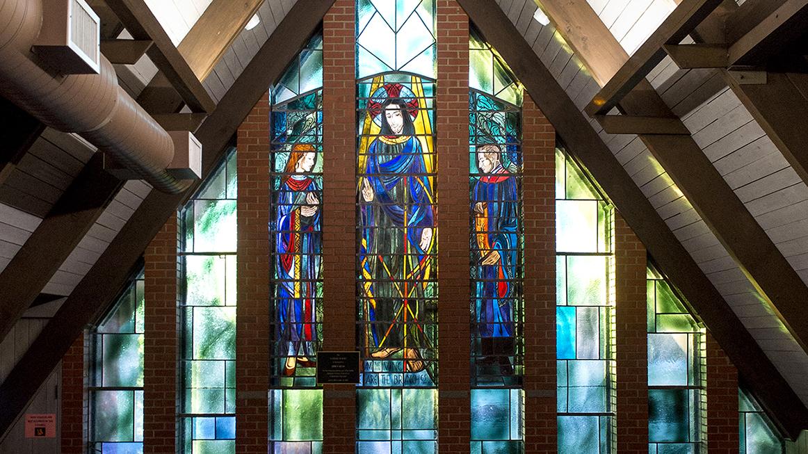 Narthex Window of Y-Chapel