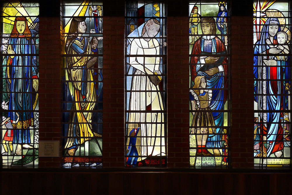 North Window of the Y-Chapel