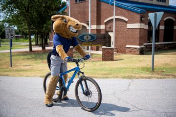 Buddy on a Bike