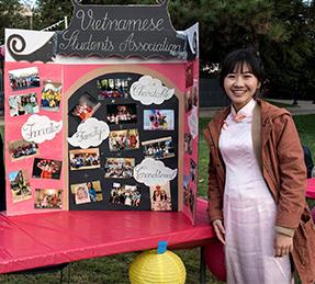 Asian Studies student