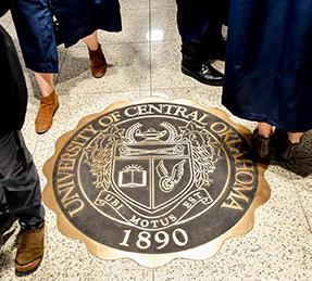 the seal of UCO