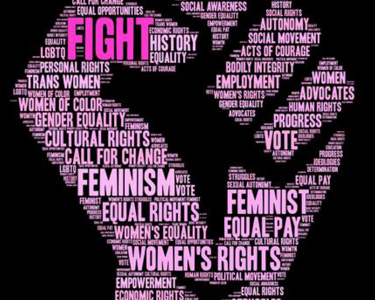 Women's, Gender, and Sexuality Studies fist image
