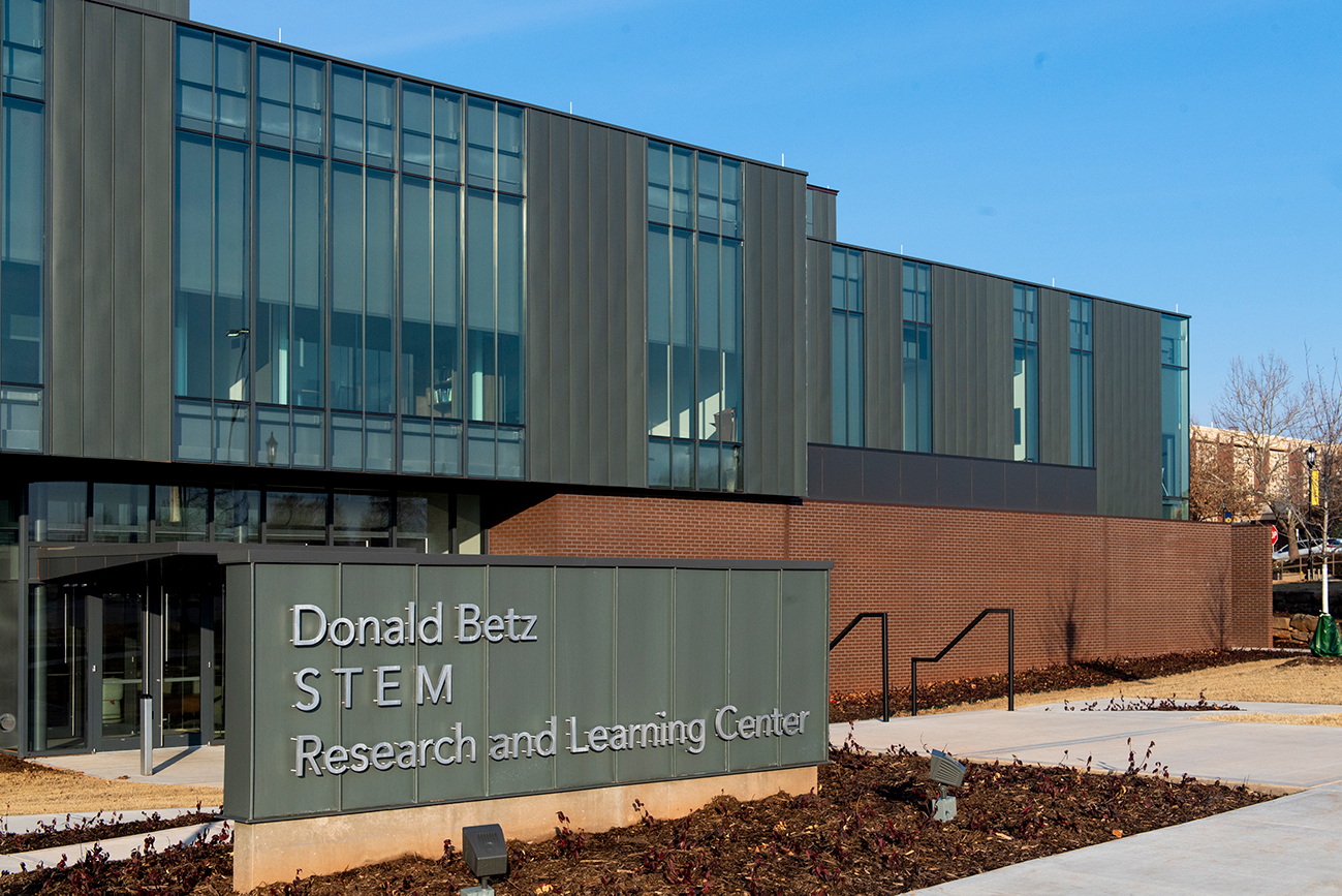 the exterior of the donald betz stem research and learning center