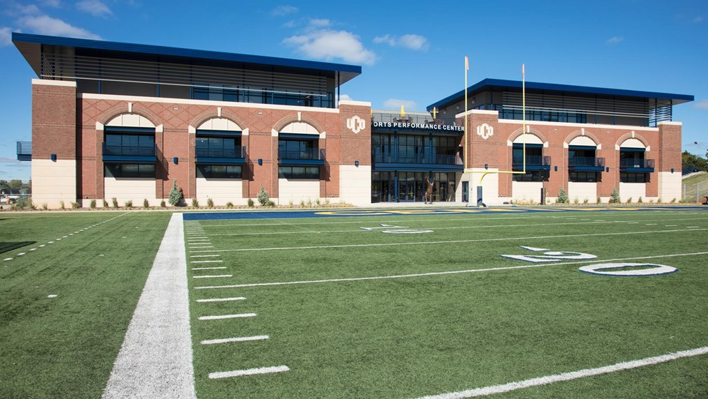 photo of the Sports Performance Center building exterior