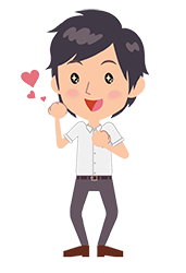 joyful student cartoon icon